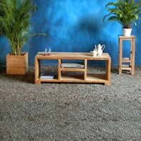Indonesian Teak Furniture Flyboy TV Stand