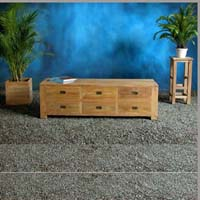 TV-Stand-6-Drawers Indonesian Teak Furniture Preview