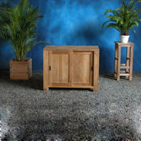 Indonesian Teak Furniture Concise Sideboard Preview Version