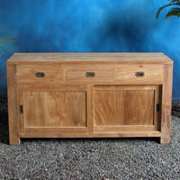 Indonesian Teak Furniture Decky M2 Sideboard Preview Version