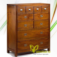 Indo Dresser Sideboard - Reclaimed Indonesian Teak Furniture