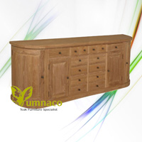London Sideboard 280a - Reclaimed Indonesian Teak Furniture