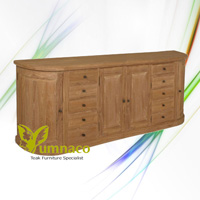 London Sideboard 280b - Reclaimed Indonesian Teak Furniture