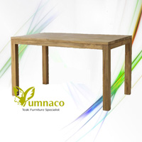 Yumna Plain Dining Table - Reclaimed Indonesian Teak Furniture