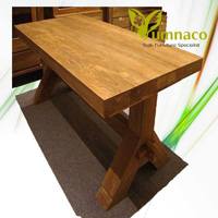 Yumna Dining Wood Table - Reclaimed Indonesian Teak Furniture