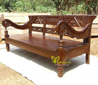 Yumna Old Bench - Reclaimed Indonesian Teak Furniture