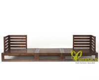 Yumna Sectional Teak - Reclaimed Indonesian Teak Furniture