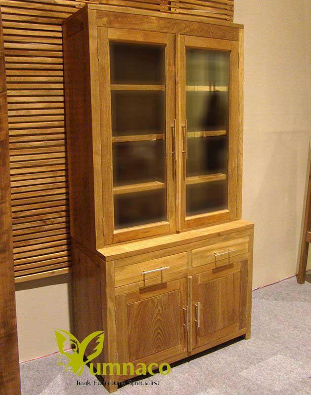 Indonesian Reclaimed Teak Furniture Wood Bookcase