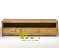 Yumna AV Cabinet 3 Drawers - reclaimed Indonesian Teak Furniture