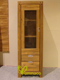 Yumna Wood Kitcen Cabinet - Reclaimed Indonesian Teak Furniture