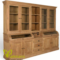 Yumna Warsaw Bookcase RD - Reclaimed Indonesian Teak Furniture