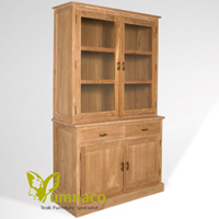 Yumna Wyoming Bookcase 120 - Reclaimed Indonesian Teak Furniture