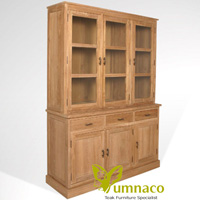 Yumna Wyoming Bookcase 150 - Reclaimed Indonesian Teak Furniture