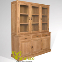 Yumna Wyoming Bookcase 175 - Reclaimed Indonesian Teak Furniture