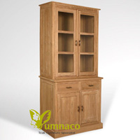 Yumna Wyoming Bookcase 90 - Reclaimed Indonesian Teak Furniture