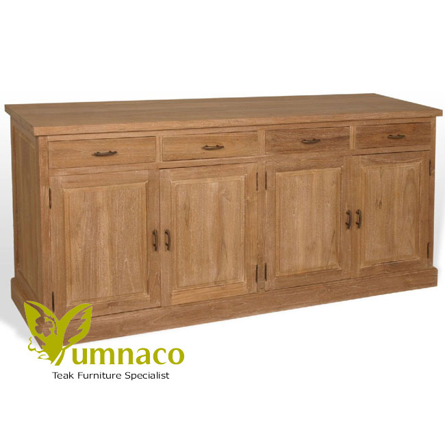 Teak Wood Buffet ~ Reclaimed teak furniture gerard sideboard