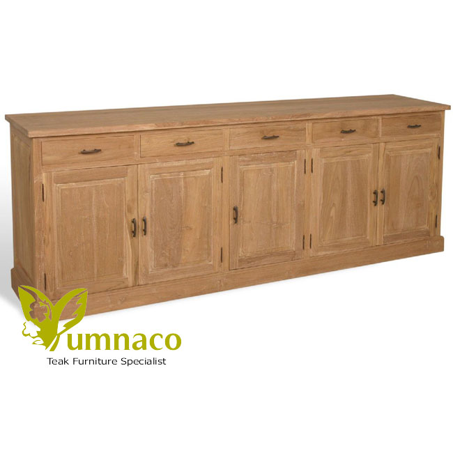 Reclaimed teak furniture gerard sideboard 240 reclaimed for Sideboard 240