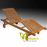 teak patio furniture yumna olivia lounger