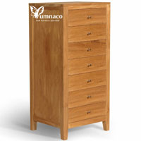 Yumna Solid Chest of 7D - Indonesian Indoor Teak Furniture