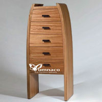 Yumna Wave Chifonier - Indonesian Indoor Teak Furniture