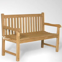 Classy Garden Bench 130 - Indonesian Outdoor Garden Teak Furniture