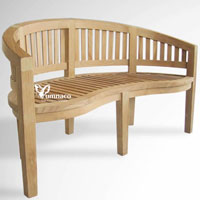 Haven Bench 01 - Indonesian Outdoor Garden Teak Furniture