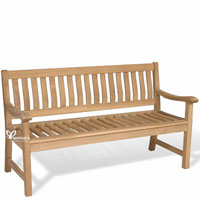 Yumna Mandalay Bench - Indonesian Outdoor Garden Teak Furniture