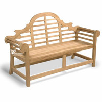 Yumna Marlborough Bench - Indonesian Outdoor Garden Teak Furniture