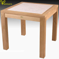 Yumna Bistro Teak Table - Indonesian Outdoor Teak Furniture